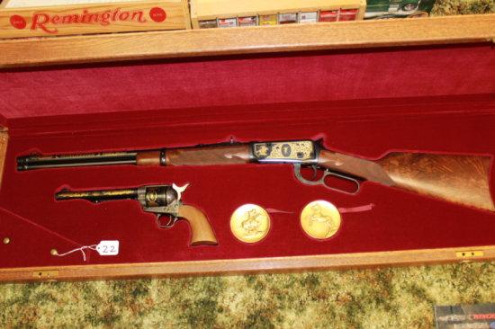 Win-Colt Set cal. 30-30 #1579 WC (Same Ser. #) Made in 1984, 3250 Sets Made