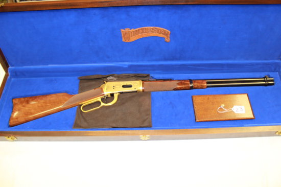 Win. 94 cal. 30-30 #77L1354 Satin Gold Plated Finish, Only 1500 Made