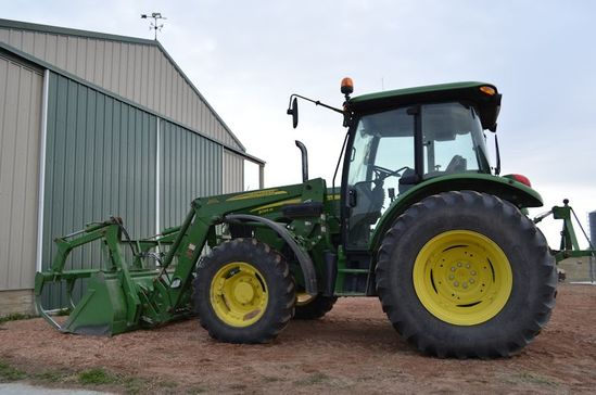 2011 John Deer 5095M Tractor