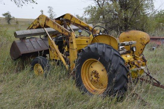 John Deere Construction Tractor