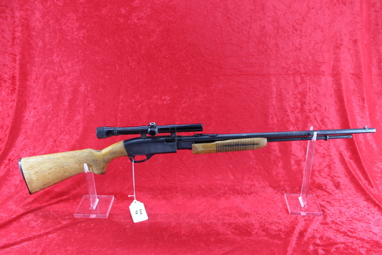 Remington 572 22 pump