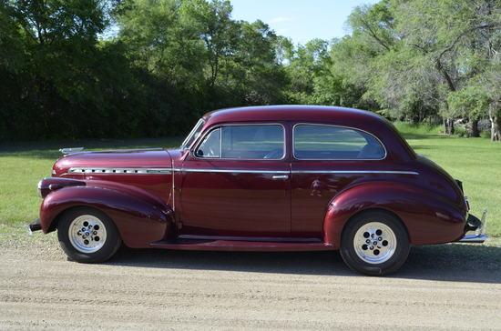 1940 Chevy Special Deluxe 2-Door Sudan (Restored)