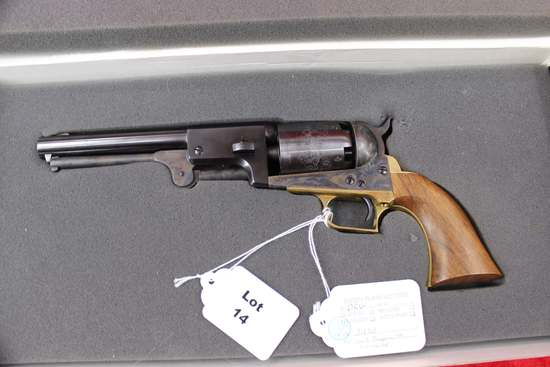 Colt black powder dragoon, 44 cal. Pistol