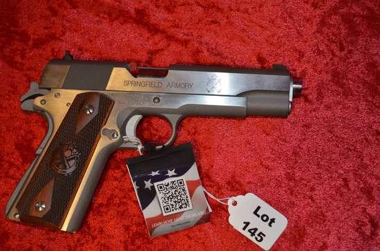 Springfield, Model 1911-A1, 45 cal. Pistol