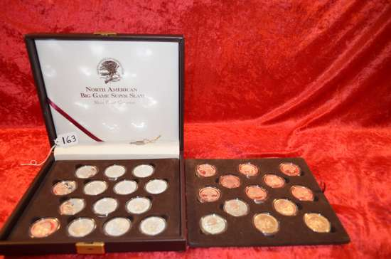 North America Big Game Super Slam Silver Proof Coin Collection