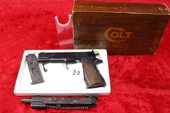 Colt Model 3150, 22 cal. Auto Pistol
