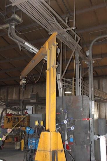 13' 1 Ton Jib Crane