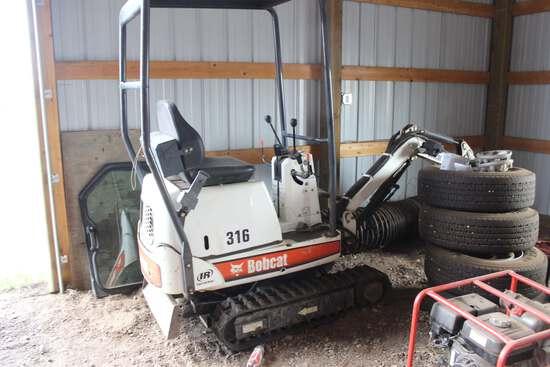 Bobcat 316A Mini Track Excavator