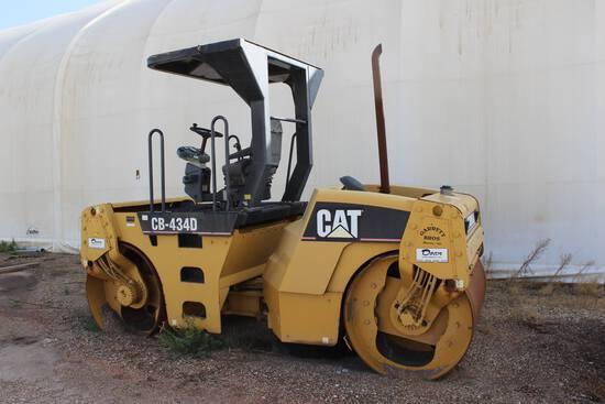 2006 Cat CB-434 D Roller Packer