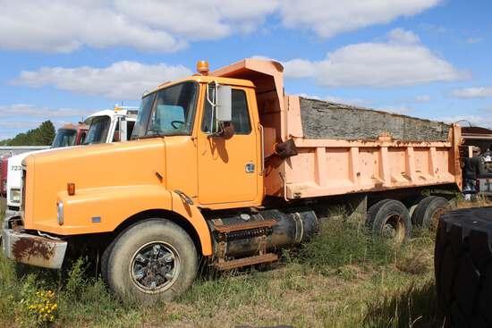 1992 White-GMC Model WG64 Dump Truck