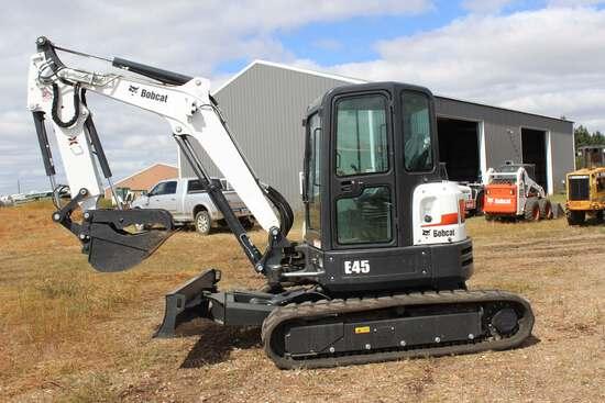 2018 Bobcat E45 Excavator