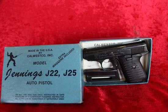 Jennings J22, J25 .22 LR Pistol