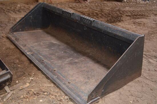 "Bobcat Dirt Bucket, 78"""