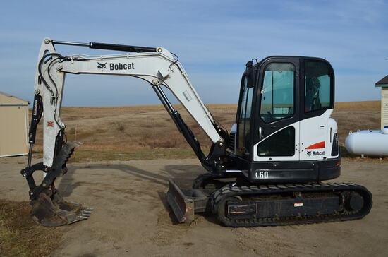2012 Bobcat E60 Crawler Excavator