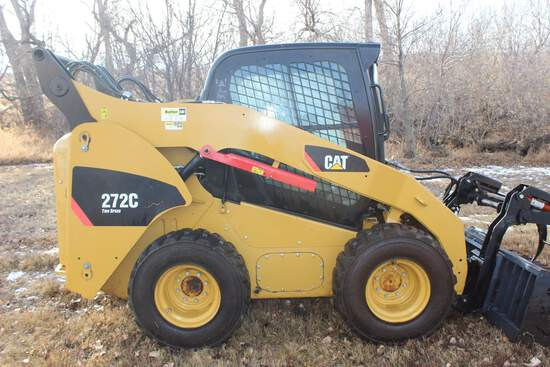 2009 CAT 272 C Skid Steer