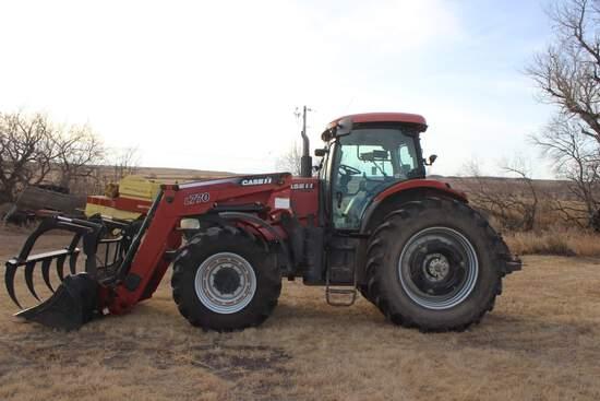 2009 Case IH 225 Puma MFWD Tractor