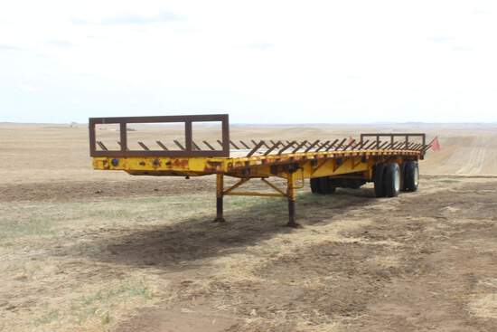 1990 Fontaine 48' + 4' Flatbed Trailer