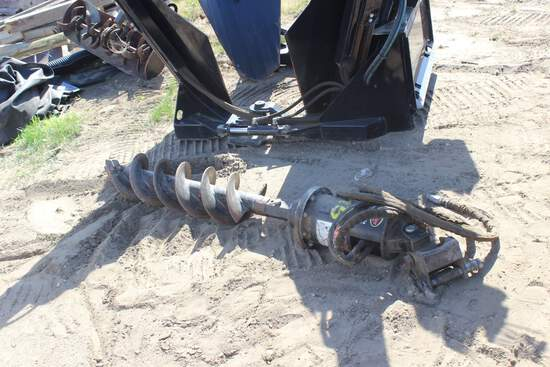"""Quick Attach 15"""" Post Hole Digger"""