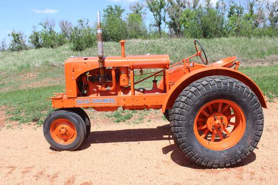 1938 AC WC Tractor