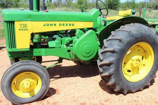 JD 730 Standard Diesel Tractor