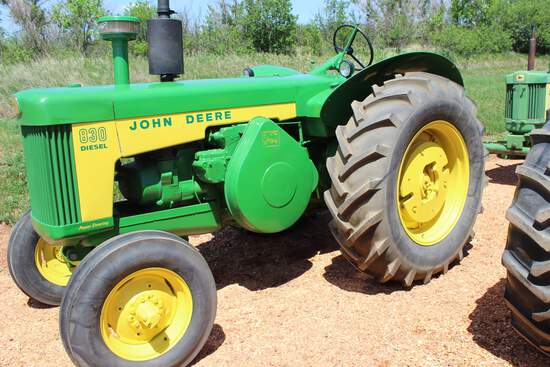 JD 830 Diesel Tractor