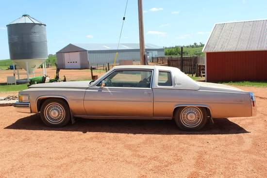1979 Cadillac Coupe DeVille Diesel Car