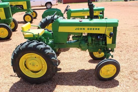 1959 JD 330 Standard Tractor