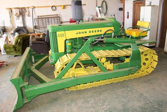JD 430 Crawler Tractor
