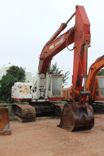 FMC LS-3400 Link Belt Track Excavator