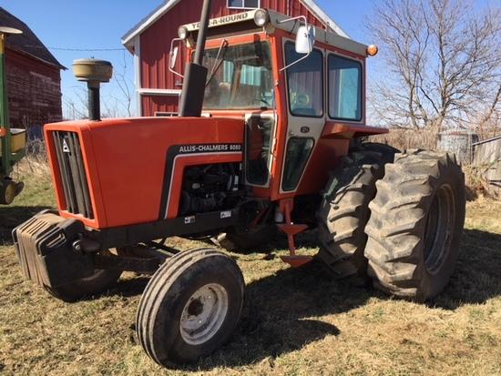 1984 Allis Chalmers 6080 diesel tractor