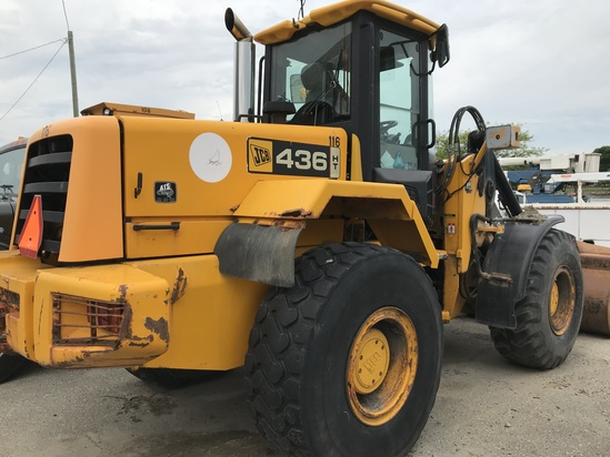 2002 JCB 436 HT Articulating Wheel Loader