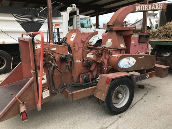 2004 Morbark Model 13 Toronado Trailer Chipper