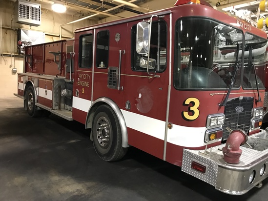 1995 Laverne E-2 Fire Pumper Truck, HSe