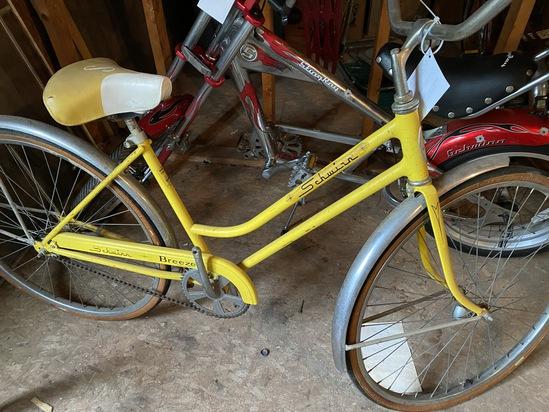 "1970's Schwinn Breeze 26"" Ladies Coaster Bike"