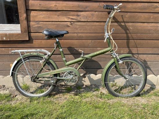 "1980's Raleigh ""Twenty"" 3-Speed Collapsible Bike"