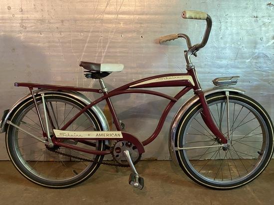 """1960's Schwinn American 20"""" Boys Tank Bike"""