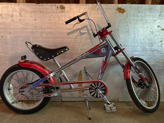 "1990's Schwinn Stingray ""Orange County Chopper"""