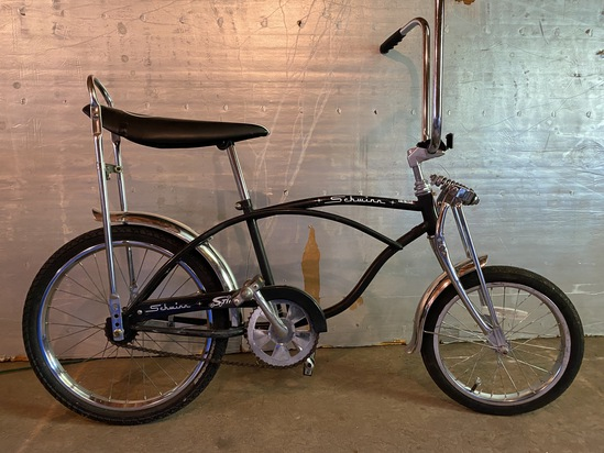 1990's Schwinn Stingray Crate Bike