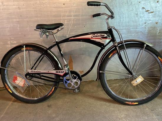 """1962 Schwinn Wasp """"Red Band"""" 2-Speed Coaster Bike"""