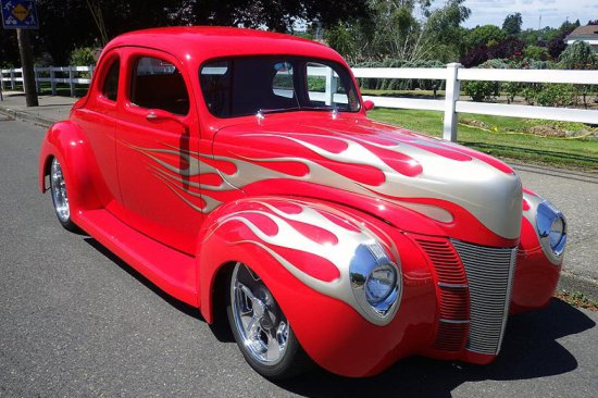 1940 FORD DELUXE CUSTOM COUPE MOJO