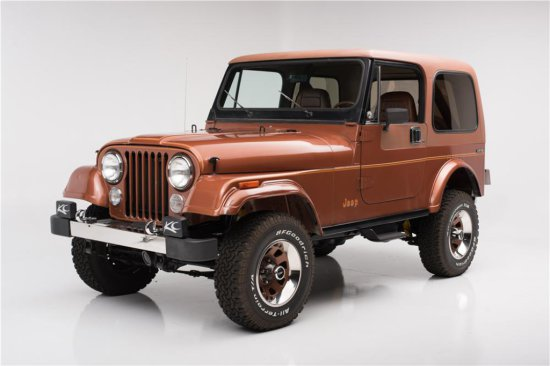 1983 JEEP CJ-7 LIMITED EDITION