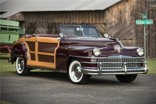 1946 CHRYSLER TOWN & COUNTRY CONVERTIBLE