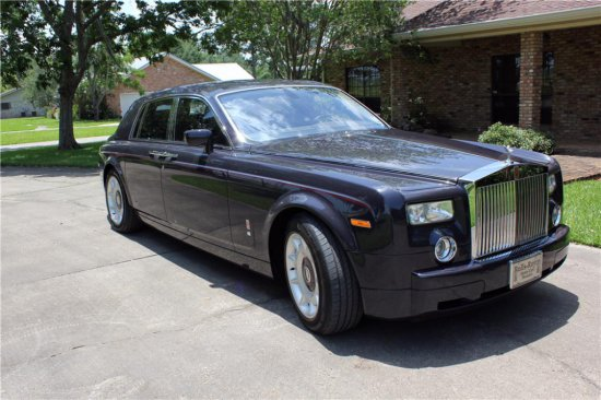 2004 ROLLS-ROYCE PHANTOM CENTENARY EDITION