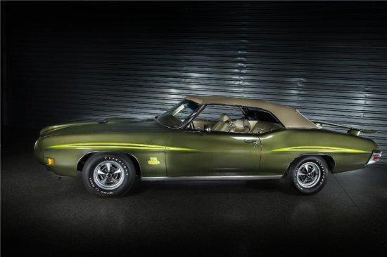 1970 PONTIAC GTO JUDGE RAM AIR III CONVERTIBLE