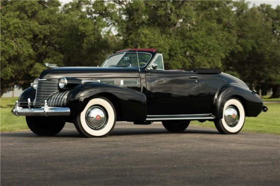 1940 CADILLAC SERIES 62 CONVERTIBLE