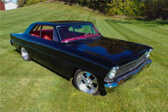 1967 CHEVROLET NOVA CUSTOM COUPE