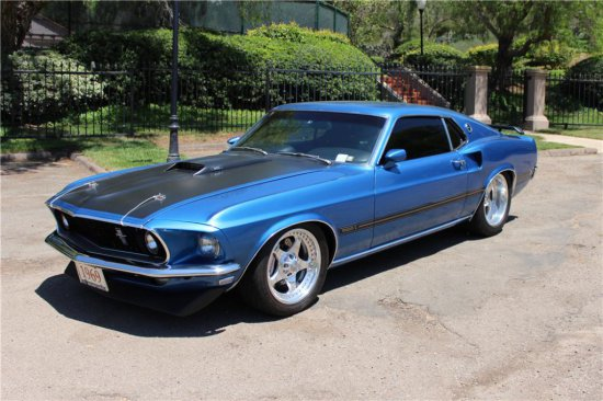 1969 FORD MACH 1 CUSTOM FASTBACK