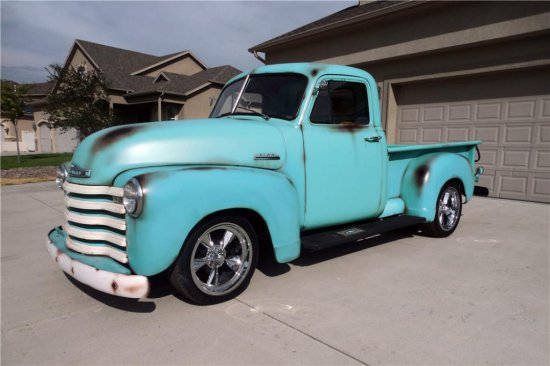1953 CHEVROLET 3100 CUSTOM PICKUP