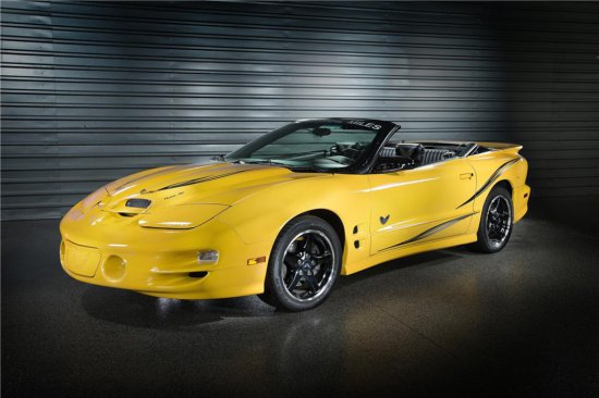 2002 PONTIAC TRANS AM WS6 COLLECTOR EDITION CONVERTIBLE