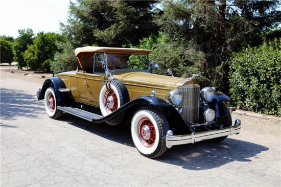 1934 PACKARD TWELVE 1107 COUPE ROADSTER